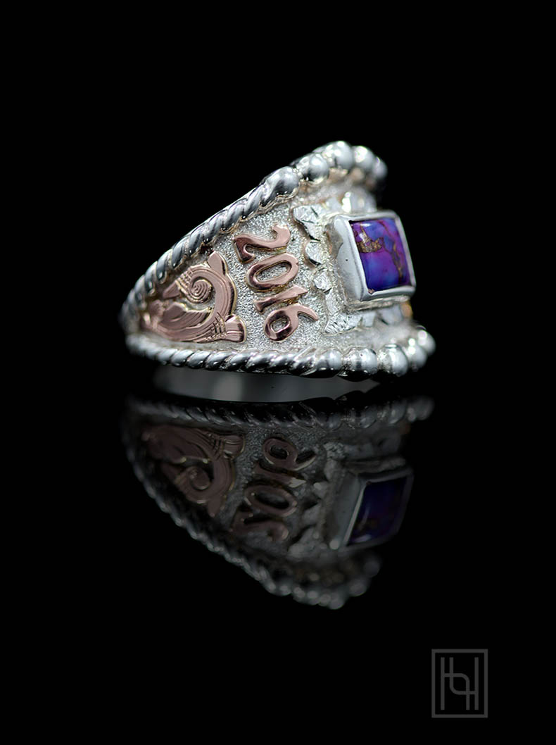 Custom RimRock & Rope Ring