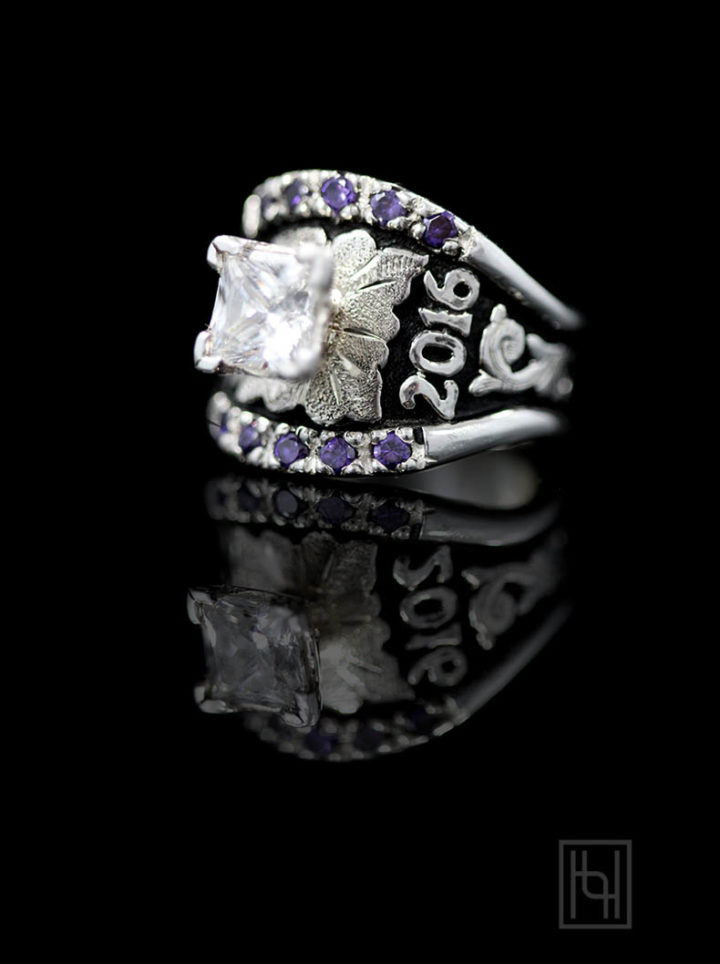 Custom Texas Solitaire Ring